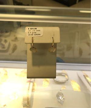 Moonstone 14k earrings for Sale in Everett, WA