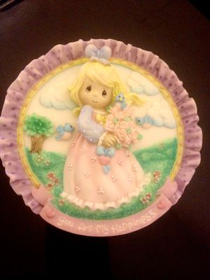 """PRECIOUS MOMENTS """"YOU ARE MY HAPPINESS"""" MINI PLATE for Sale in Madeira Beach, FL"""