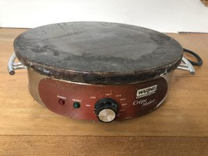 Crepe maker, Waring industrial kitchen quality for Sale in Tacoma, WA