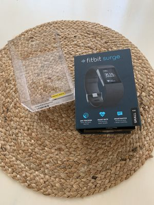 Fitbit Surge Black Watch Great Condition for Sale in Riverside, CA