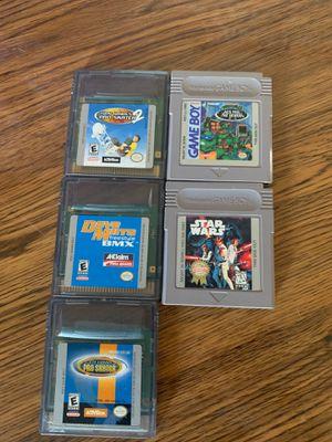 Nintendo GameBoy Games Star Wars Ninja Turtles Tony Hawk for Sale in San Leandro, CA