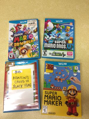 Wii U Video Games for Sale in Kent, WA