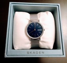 Price Just Dropped: Brand New Skagen Women's Signatur Stainless Steel Mesh Bracelet Watch 30mm (Pick up🛒 In Bellevue) *Check out my other posts 🤹 for Sale in Bellevue,  WA