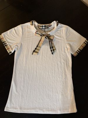 Burberry inspo bow top for Sale in Los Angeles, CA