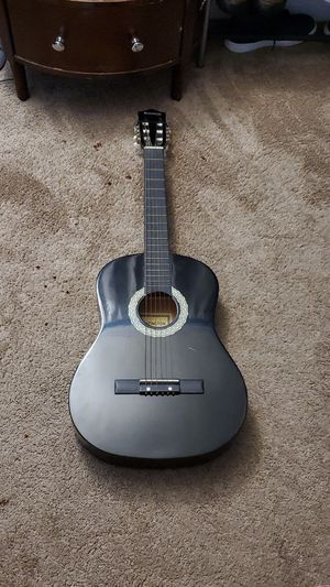 Huntington black guitar for Sale in Sudley Springs, VA