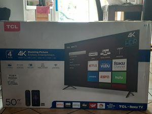 """50"""" Inch TCL smartv 4k roku tv for Sale in Orlando, FL"""