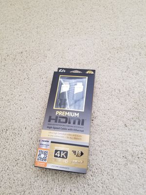 New 6ft HDMI cable for Sale in St. Petersburg, FL