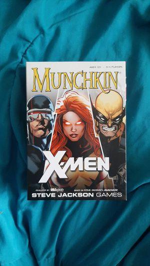 Munchkin X-Men for Sale in Spokane Valley, WA