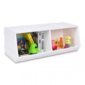 Kids Flexible Stackable Toy Box Organizer Storage Cabinet. N88 for Sale in San Dimas, CA