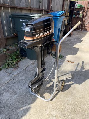 WINTER SALE! Must go! 4.5 hp Mercury outboard motor for Sale in Vallejo, CA