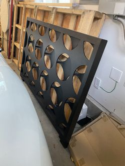 Black Modern Bedframe And Headboard for Sale in Seattle,  WA