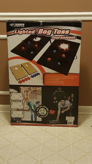 Glow In The Dark Bag Toss Game for Sale in Charlotte, NC
