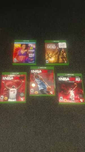 XBOX ONE Game's $10ea/$30 set for Sale in Chicago, IL