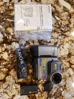 Sony Mavica 1.3 mega pixel floppy camera vintage for Sale in Suffield, CT