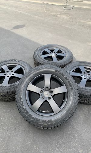 "18"" G-wagon 2019 wheels tires rims off road falken new tires wheels tpms 265/60/18 w463 4010900 g550 g500 g63 g wagon 18 for Sale in Riverside, CA"