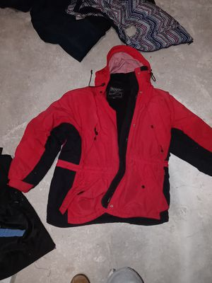 Size medium boys snow jacket for boarding or skiing or playing in the snow for Sale in Roseville, CA