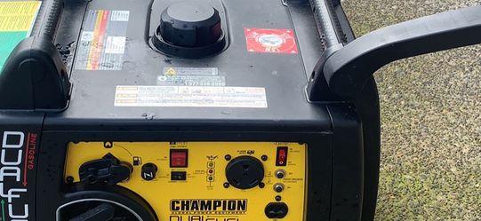 Champion 3400 Generator/inverter Dual Fuel for Sale in Oregon City,  OR