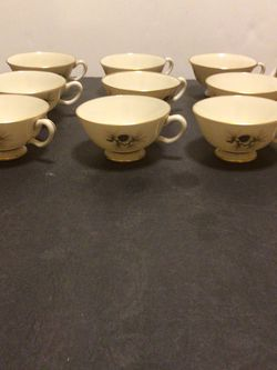 (9) Vintage Pine By Lenox Tea Cups for Sale in Johnstown,  NY