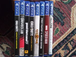 Ps4 games for Sale in Center Line, MI