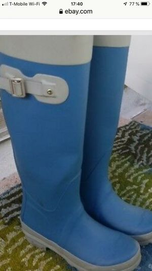 Rain Boots Size 7 womans for Sale in North Bay Village, FL