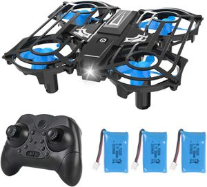 Mini Drones for Kids and Beginners, RC Small Quadcopter Drone with 3 Batteries, Light Up LEDs, 3D Flip, Speed Adjustment & Altitude Hold for Sale in Syosset, NY