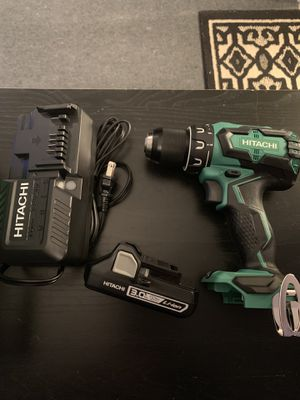 Hitachi 18v cordless driver drill for Sale in Springville, NY