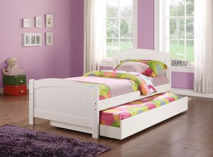 New White Twin/Twin trundle Bed for Sale in Austin, TX
