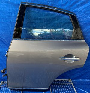 2008 - 2015 INFINITI EX35 EX37 QX50 REAR LEFT DRIVER SIDE DOOR ASSEMBLY GRAY for Sale in Fort Lauderdale, FL