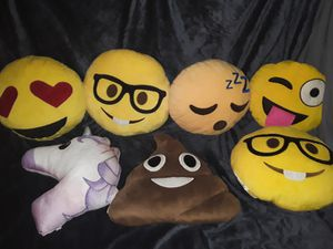Emoji Pillows for Sale in Bend, OR
