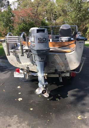 Alumacraft Yamaha 2 cycle updated for Sale in HVRE DE GRACE, MD