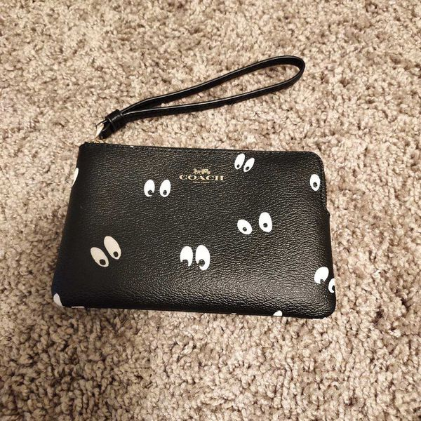 coach small wallet for change