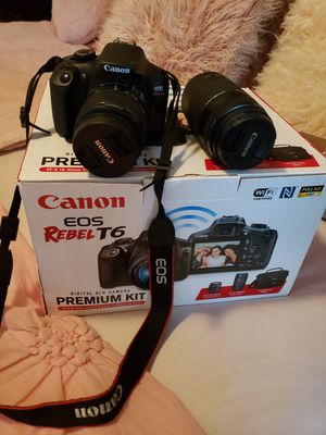 Canon Eos Rebel T6 for Sale in Fairburn, GA