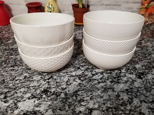 Cereal bowls set of 6 for Sale in Alexandria, VA