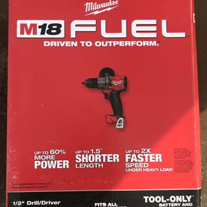 "M18 FUEL 1/2"" Drill Driver- Bare Tool for Sale in Oklahoma City, OK"