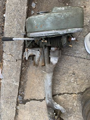 Vintage .Out board motor Vintage 1950's Sears Elgin Outboard Boat Motor for Sale in Brooklyn, NY
