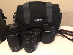 Canon 70D with lenses for Sale in Jacksonville, FL