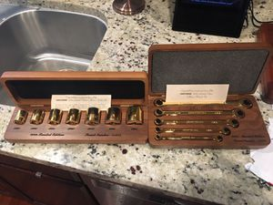 Craftsman collectors socket/wrench set . Gold plated for Sale in Lodi, CA