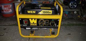Wen 1800w generator for Sale in Los Angeles, CA
