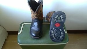 Justin original work boots, Size 9D for Sale in Niagara Falls, NY