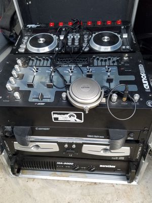 Best offer Like New DJ equipment bundle over 14 pieces for best offer for Sale in Saint Charles, MD