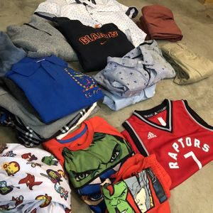 Boys Clothes Lot - Adidas Nike Marvel Gap Old Navy - Shirts Sweaters Pants - Great Condition for Sale in Union City, CA