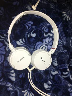 Sony headphones (white) for Sale in Hillsboro, OR