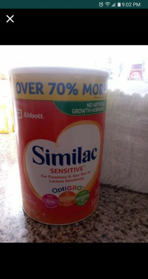 Similac sensitive + size 1 diapers for Sale in North Las Vegas, NV