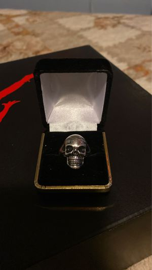 Skull Silver Ring .925 for Sale in Pacifica, CA