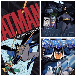 BATMAN ANIMATED Series + 2 BONUS MOVIES — HDX VUDU for Sale in Artesia, CA