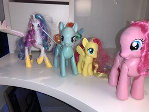 My Little Pony Toys, Princess Celestial, Rainbow Dash, Fluttershy, Pinkie Pie for Sale in Tappan, NY