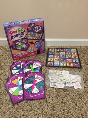 Vamperina spin go round board game for Sale in Bakerstown, PA