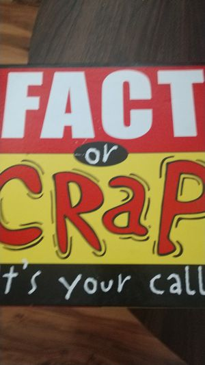 Fact or Crap board game. for Sale in Henderson, NV