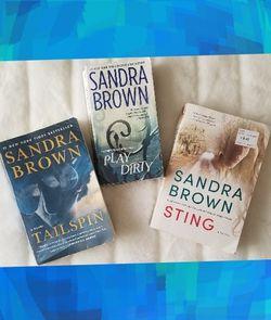 3 Sandra Brown Novels for Sale in South Jordan,  UT