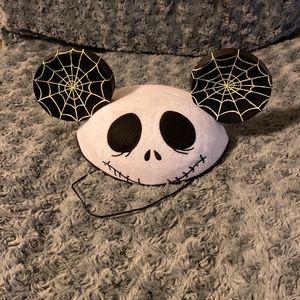 Disney Jack Skellington Mickey Ears / Hat for Sale in Garden Grove, CA